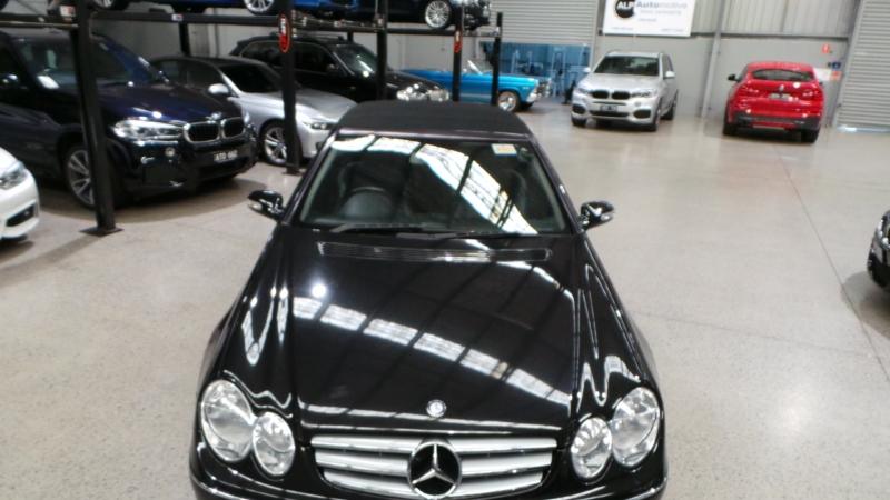2006 Mercedes-Benz CLK-Class A209 MY07 CLK200 Kompressor Elegance Cabriolet 2dr Auto 5sp 1.8SC