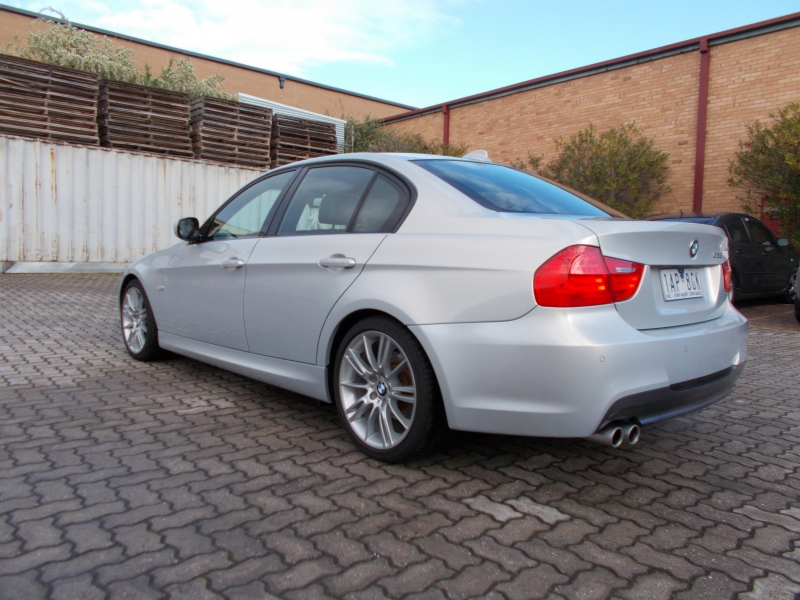 2010 BMW 3 Series E90 MY10 323i, Sedan 4dr Steptronic 6sp 2.5i