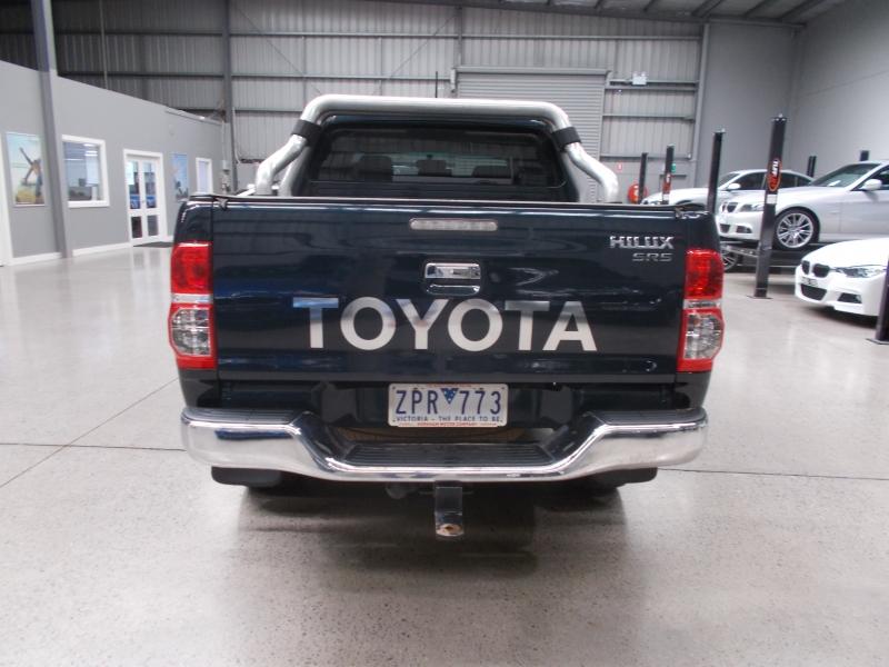 2013 Toyota Hilux KUN26R MY12 SR5 Utility Double Cab 4dr Man 5sp 4x4 860kg 3.0DT