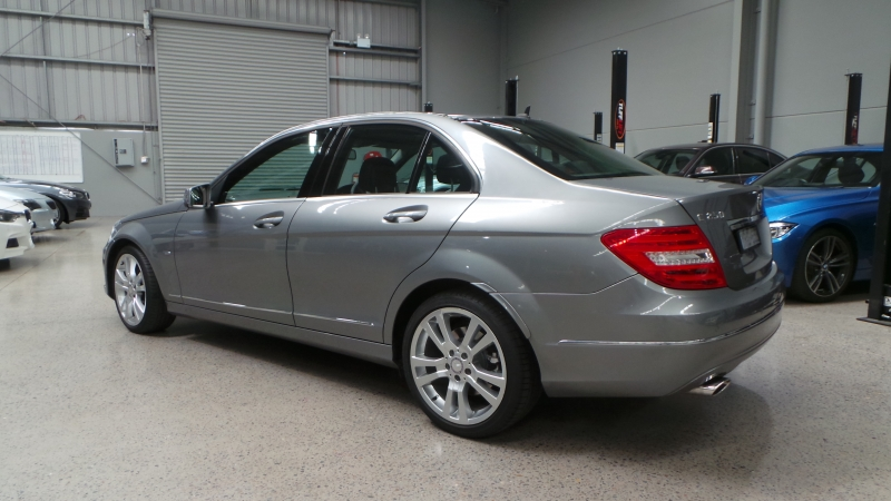 2011 Mercedes-Benz C-Class W204 MY11 C250 CDI BlueEFFICIENCY Avantgarde Sedan 4dr 7G-TRONIC 7sp 2.1DTT