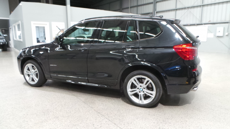 2013 BMW X3 F25 MY13.5 xDrive20d, Wagon 5dr Steptronic 8sp 4x4 2.0DT