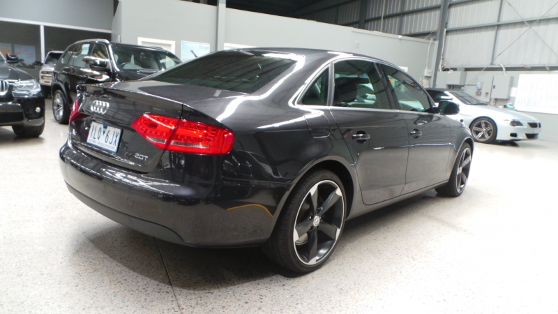 2010 Audi A4 B8 8K MY11 Sedan 4dr multitronic 8sp 2.0T