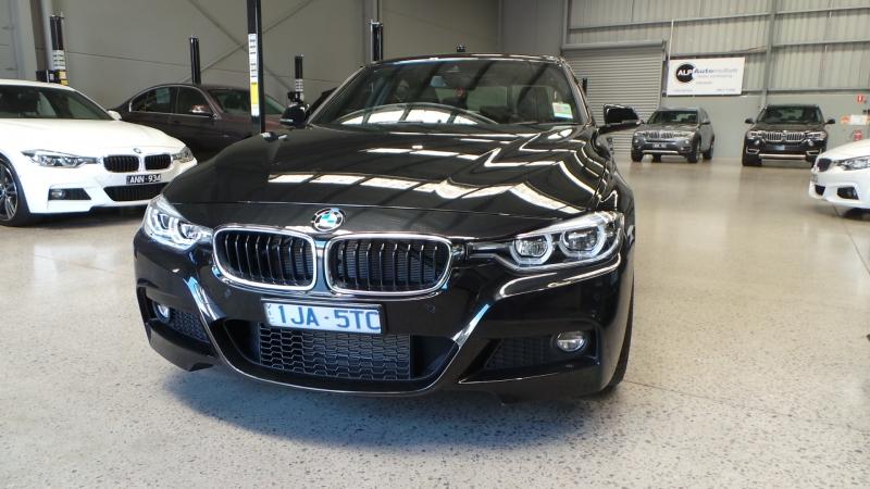 2016 BMW 3 Series F30 LCI 330i M Sport, Sedan 4dr Spts Auto 8sp 2.0T