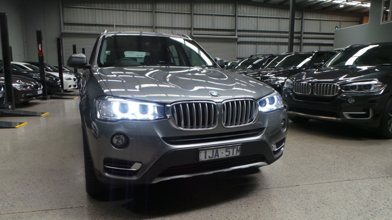 2017 BMW X3 F25 LCI xDrive20d, Wagon 5dr Steptronic 8sp 4x4 2.0DT