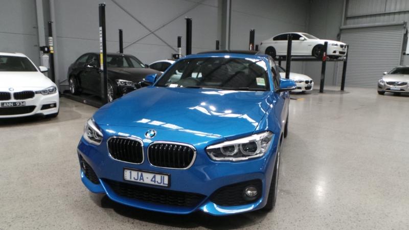 2017 BMW 1 Series F20 LCI 125i M Sport, Hatchback 5dr Spts Auto 8sp 2.0T