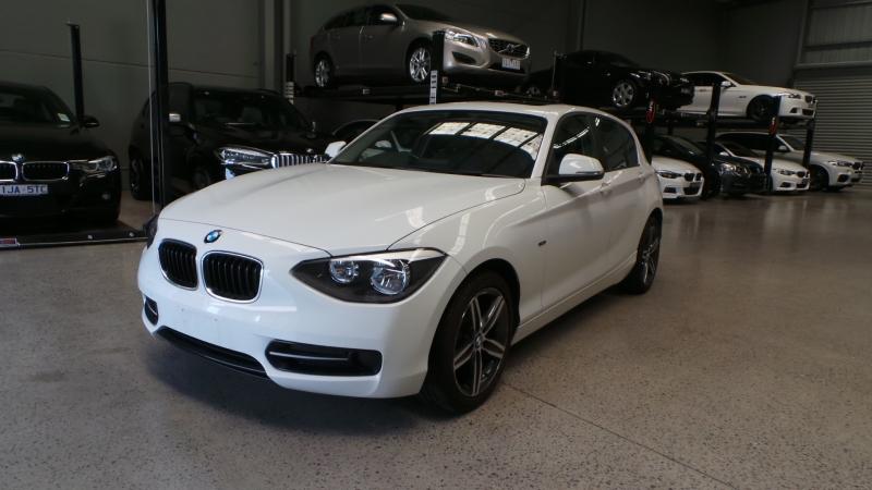 2013 BMW 1 Series F20 MY14 116i, Hatchback 5dr Steptronic 8sp 1.6T