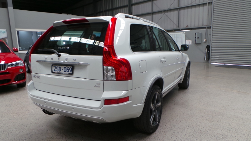 2013 Volvo XC90 P28 MY13 R-Design Wagon 7st 5dr Geartronic 6sp 4x4 3.2i
