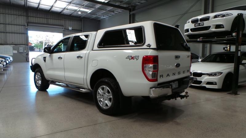 2014 Ford Ranger PX XLT, Utility Double Cab 4dr Spts Auto 6sp 4x4 1023kg 3.2DT