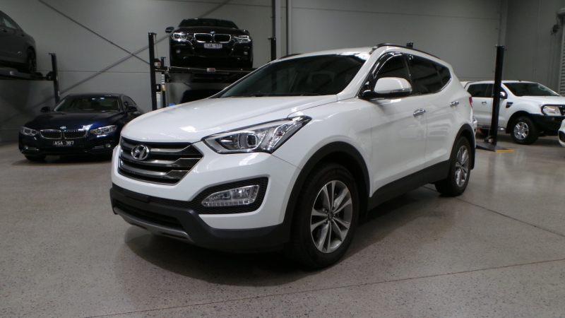 2015 Hyundai Santa Fe DM2 MY15 Elite, Wagon 7st 5dr Spts Auto 6sp 4x4 2.2DT