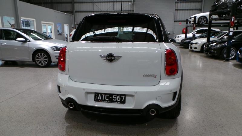 2011 MINI Countryman R60 Cooper S Wagon 5dr Spts Auto 6sp 1.6T (4st)