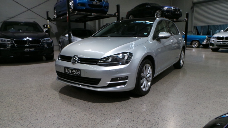 2015 Volkswagen Golf VII MY15 103TSI Highline Hatchback 5dr DSG 7sp 1.4T